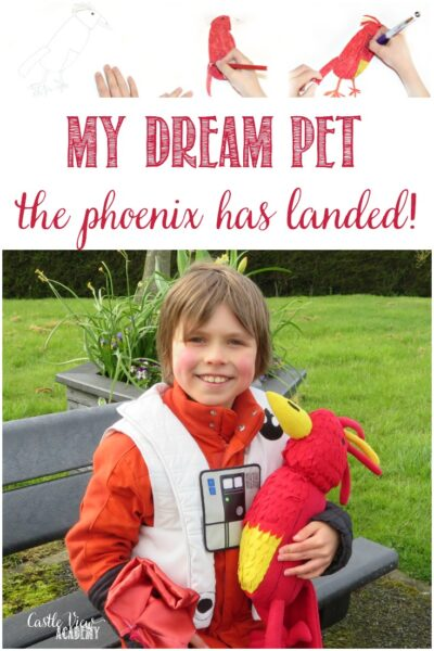 The Phoenix Dream Pet has landed at Castle View Academy