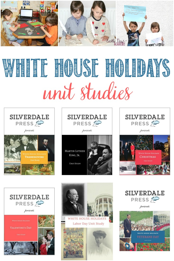 White House Holidays Unit Studies for American History #hsreviews #UnitStudies  #Thanksgiving #LaborDay #MLK