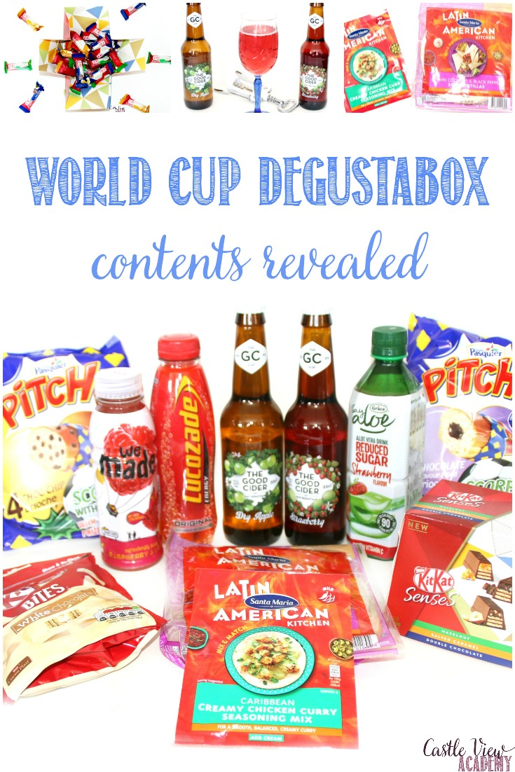 May Degustabox For The World Cup