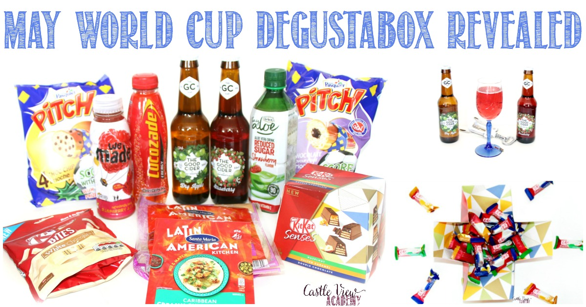 World Cup May Degustabox at Castle View Academy