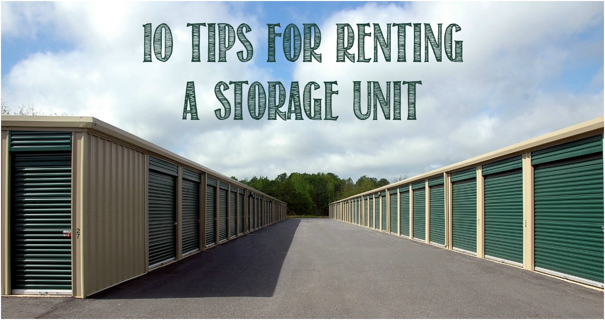 10 Tips For Renting a Storage Unit by Castle View Academy