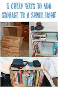 5 cheap ways to add space to a small home at Castle View Academy Homeschool