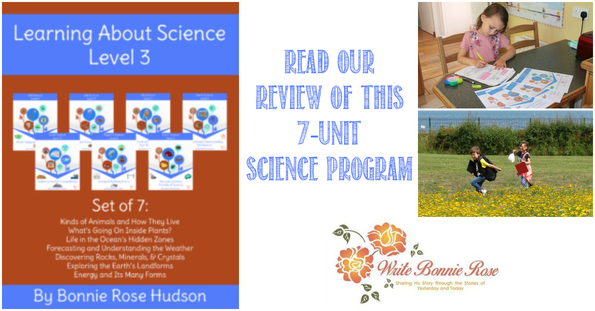 Castle View Academy homeschool reviews WriteBonnieRose Science program