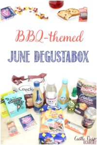 Castle View Academy reviews June BBQ Degustabox