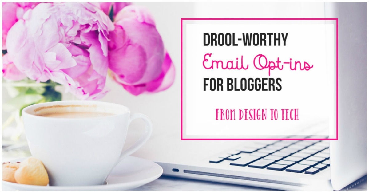 Drool-Worthy Email Optins For Bloggers, a review by Castle View Academy