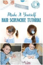 Hair Scrunchie tutorial by Castle View Academy