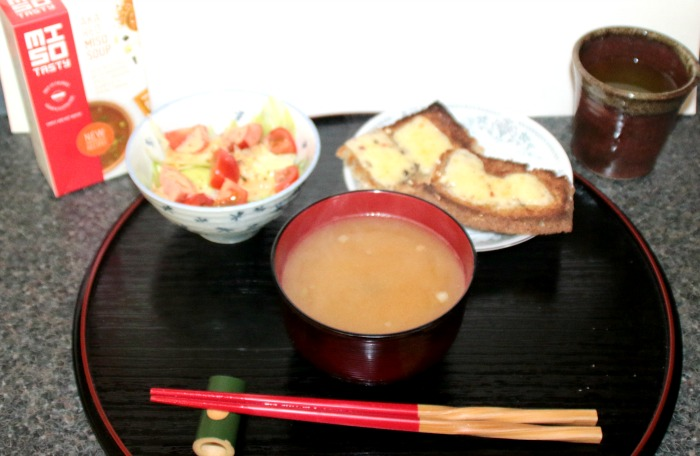 Miso soup at Castle View Academy
