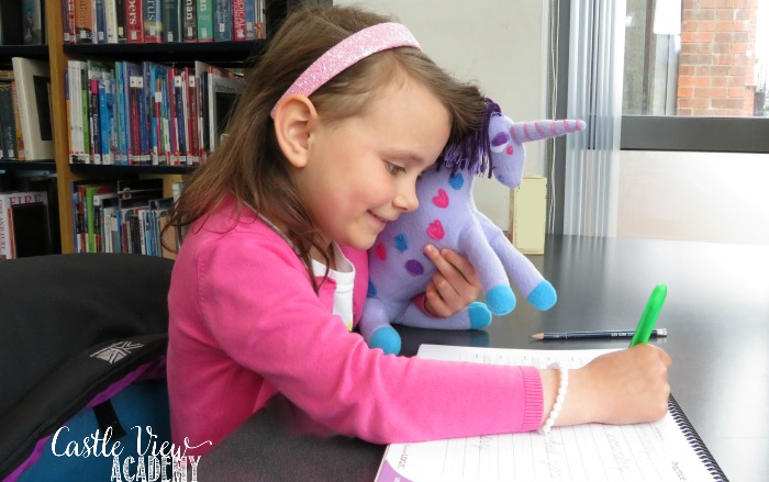 My Dream Unicorn goes everywhere with Castle View Academy