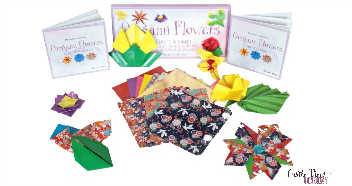 Origami Flowers contents