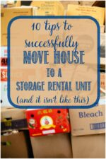 successfully move to a rental storage unit with these tips by Castle View Academy