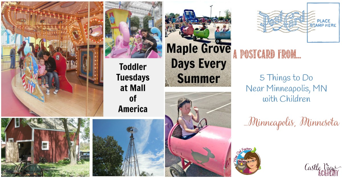 5 Things to Do Near Minneapolis, MN with Children, by the Wise Owl Factory