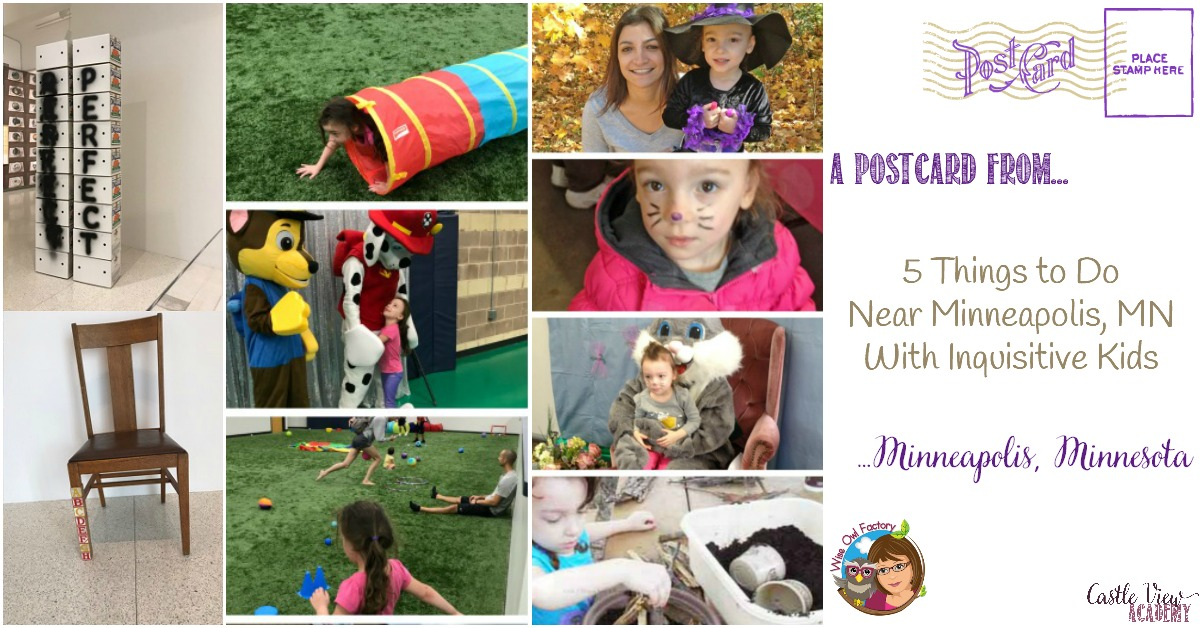 5 Things to Do Near Minneapolis, MN with Inquisitive Children, by the Wise Owl Factory