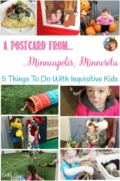 5 Things to Do Near Minneapolis, MN with Inquisitive Kids, by the Wise Owl Factory