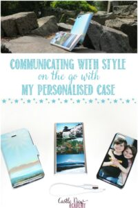 Castle View Academy homeschool is communicating with style with My Personalised Case