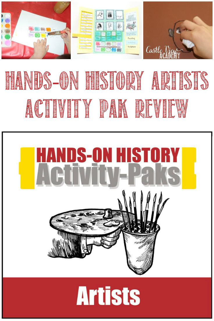 Hands-On History Artists Activity Pak Review