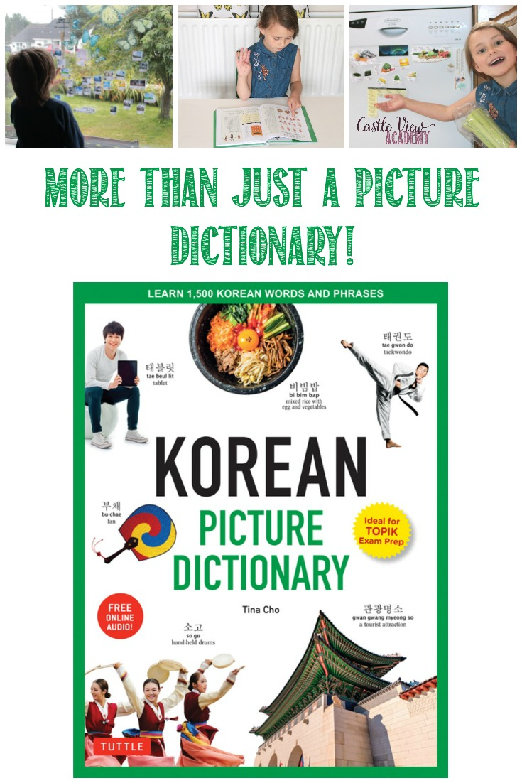 More than just a dictionary: the Korean Picture Dictionary is useful for learning Korean for all ages!