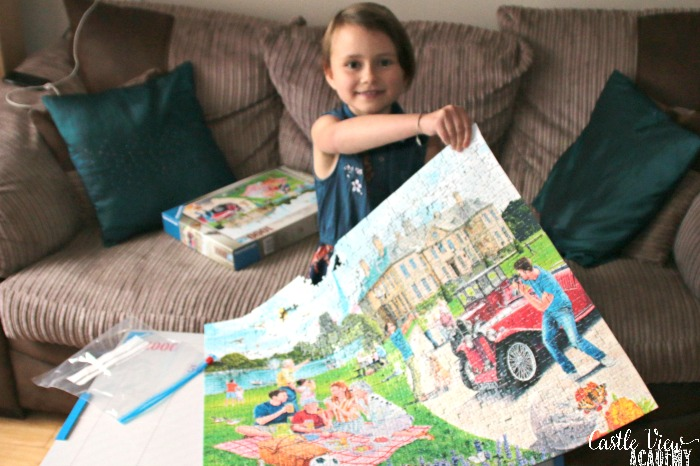 Castle View Academy thinks Ravensburger puzzles are magical