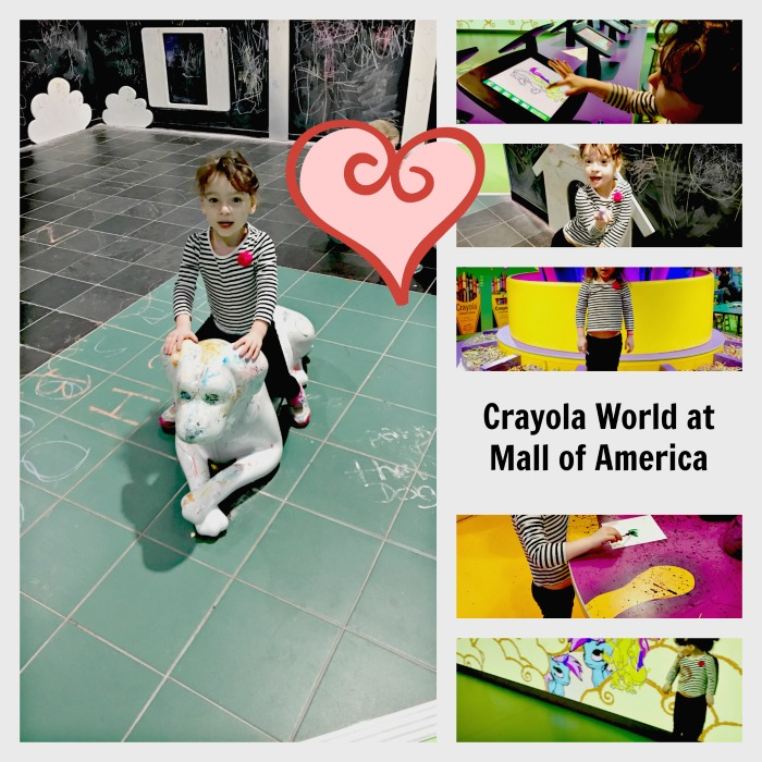 Crayola World At Mall of America Minnesota