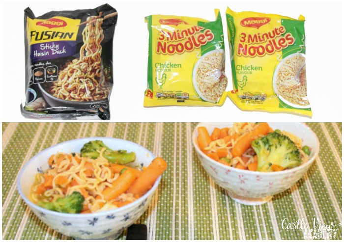 Maggi noodles at Castle View Academy