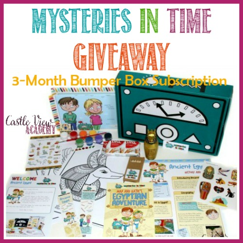 Mysteries In Time Giveaway at Castle View Academy homeschool