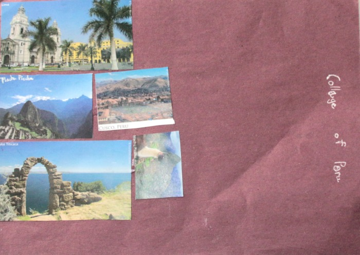Pictures of Peru at Castle View Academy homeschool