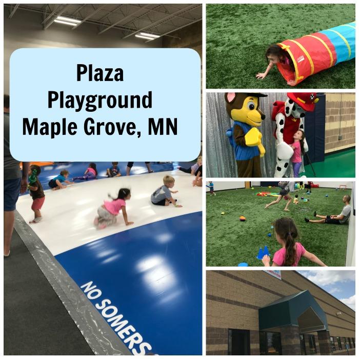 Plaza Playground Maple Grove MN