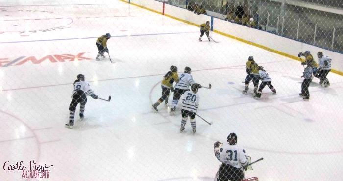 Saskatchewan hockey with Castle View Academy homeschool