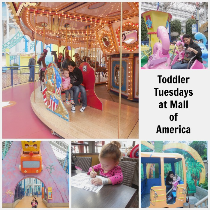 Toddler Tuesdays at Mall of America Minnesota