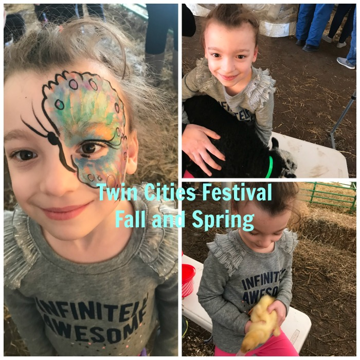 Twin cities festival every fall and spring