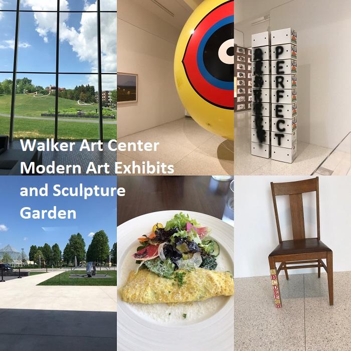 Walker art center and sculpture garden