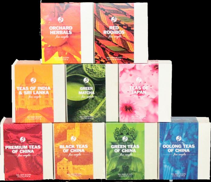 Adagio tea samplers