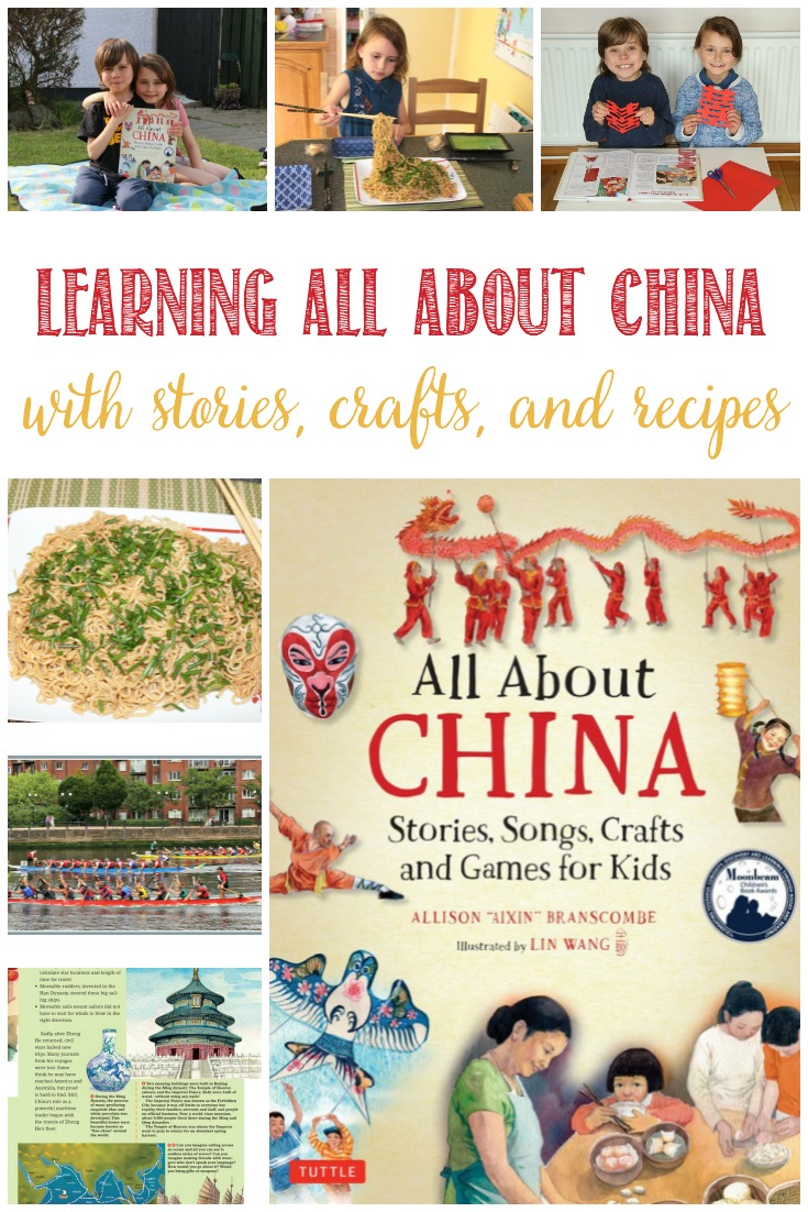 Learning All About China Through Stories, Crafts, and Recipes