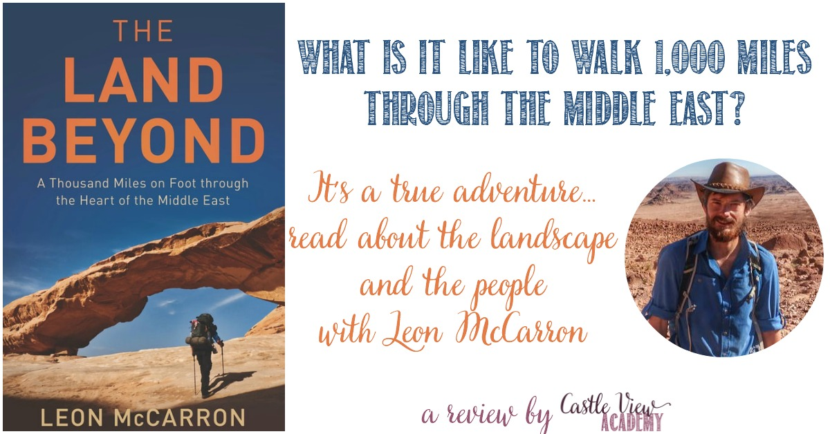 Castle View Academy reviews The Land Beyond by Leon McCarron