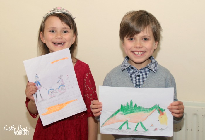 Castle View Academy with their favourite Drawn To Discover pictures