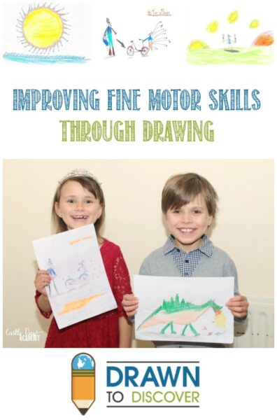Drawn To Discover- Improving Fine Motor Skills Through Drawing, review by Castle View Academy homeschool