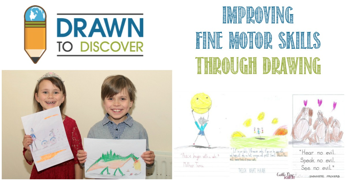 Drawn To Discover review by Castle View Academy homeschool