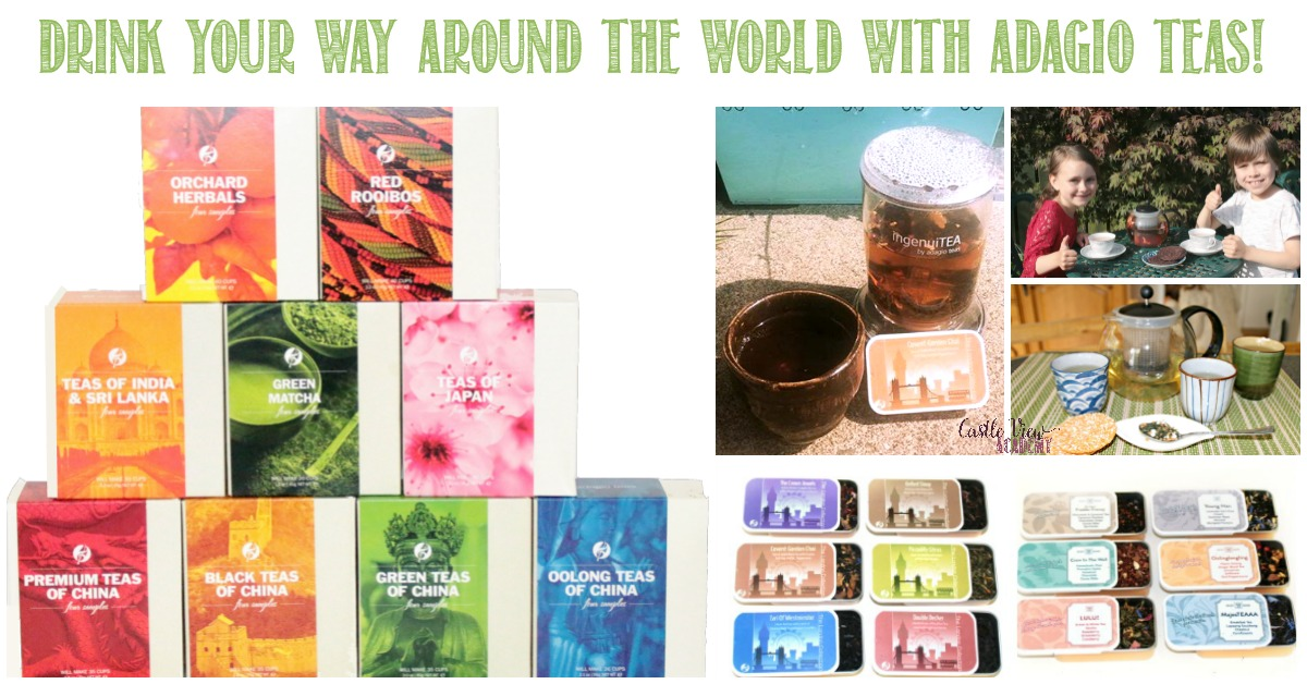 Drink Your Way Around the World with Adagio Teas and Castle View Academy