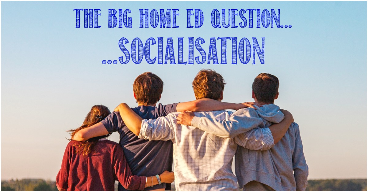 The big homeschool question about socialisation at Castle View Academy