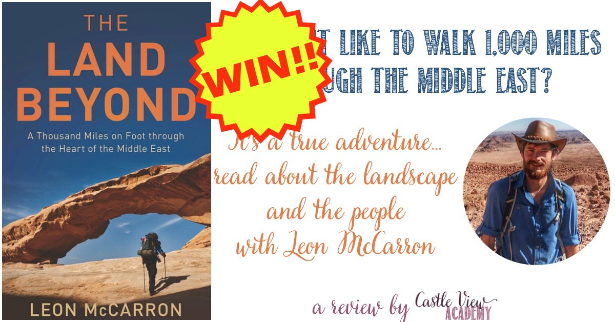 Win a copy of The Land Beyond by Leon McCarron at Castle View Academy homeschool