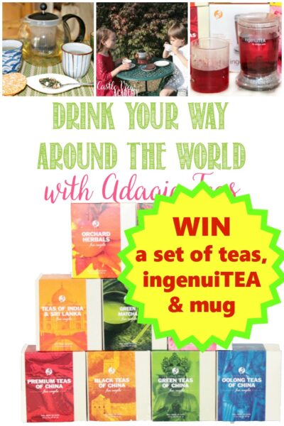 Win a set of teas and infuser from Adagio Teas with Castle View Academy homeschool