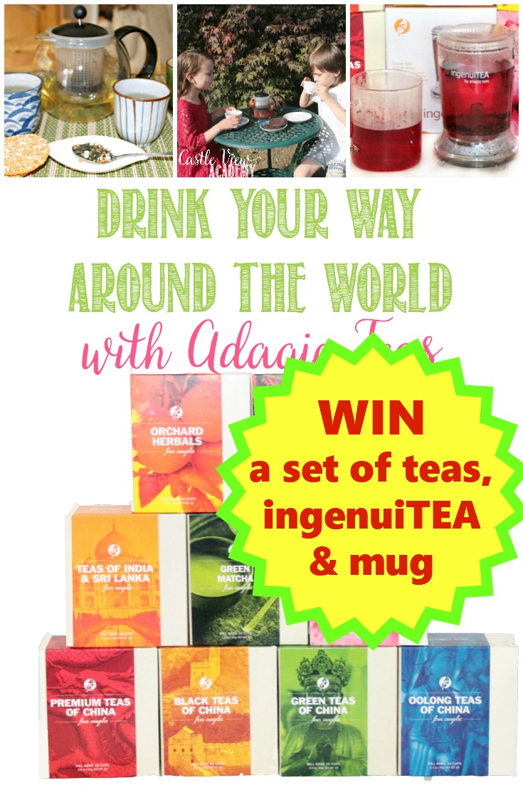 Drink Your Way Around The World With Adagio Teas #Giveaway