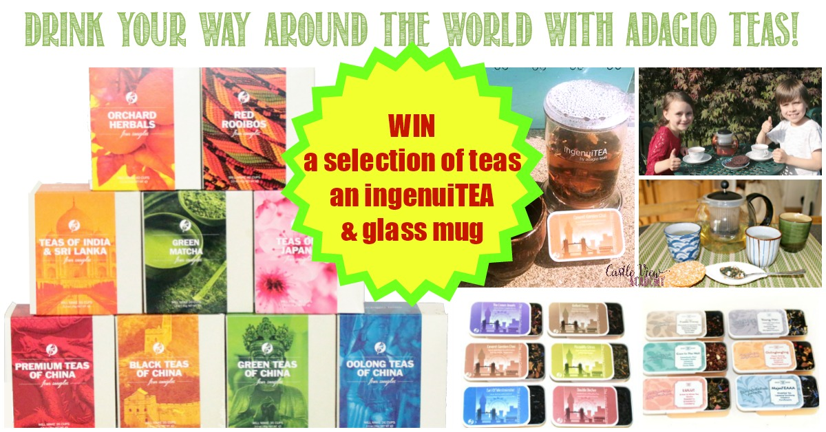 Win a set of teas and infuser from Adagio Teas with Castle View Academy