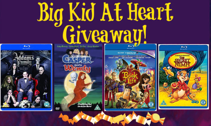 Big Kids At Heart Halloween Movie Giveaway at Castle View Academy