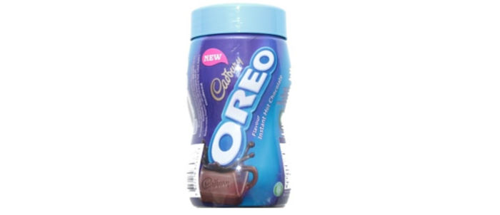 Cadbury Oreo Hot Chocolate