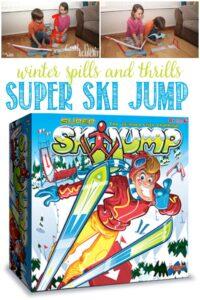 Castle View Academy homeschool reviews Super Ski Jump by Drumond Park