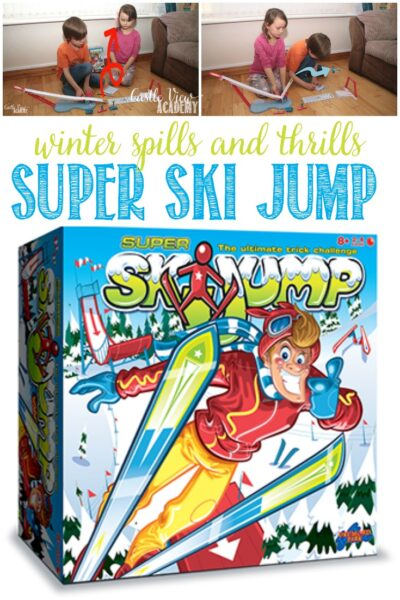 Castle View Academy homeschool reviews Super Ski Jump by Drumond Park