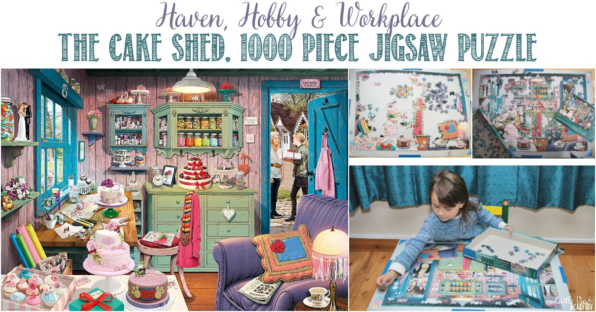 Castle View Academy reviews Ravensburger The Cake Shed puzzle