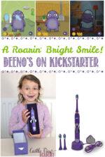 Deeno-Saur Toothbrush is on Kickstarter, Castle View Academy homeschool Reviews