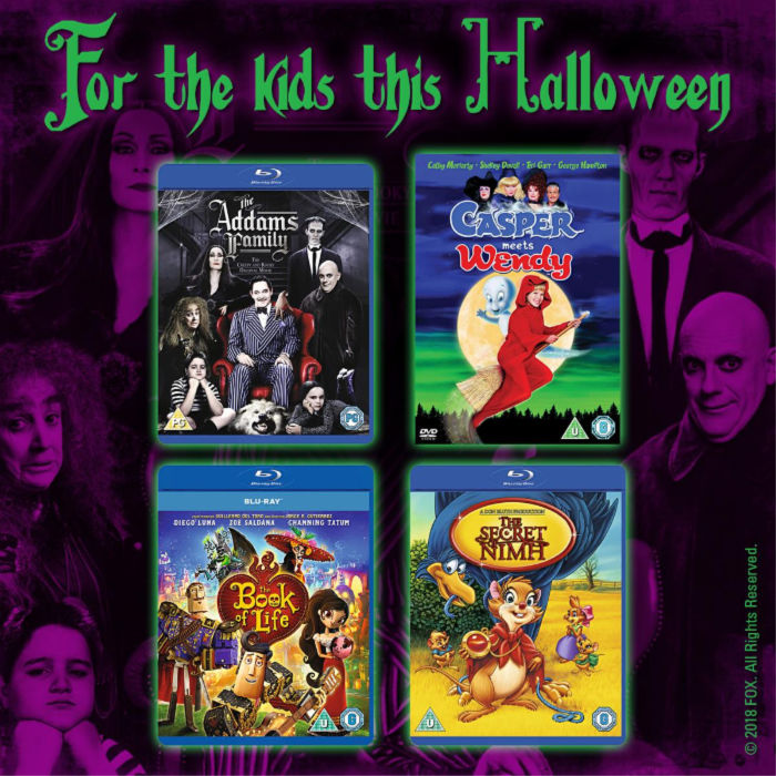 For the kids this Halloween; Win 4 movies at Castle View Academy