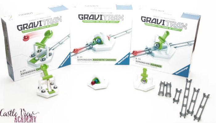 Gravitrax add-ons at Castle View Academy homeschool